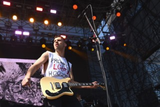 """Watch Bleachers Cover Kanye West's """"Only One"""" In Detroit"""