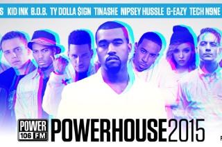 Kanye West Will Headline Power 106's Powerhouse 2015
