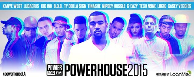 Kanye West Headlines Powerhouse 2015