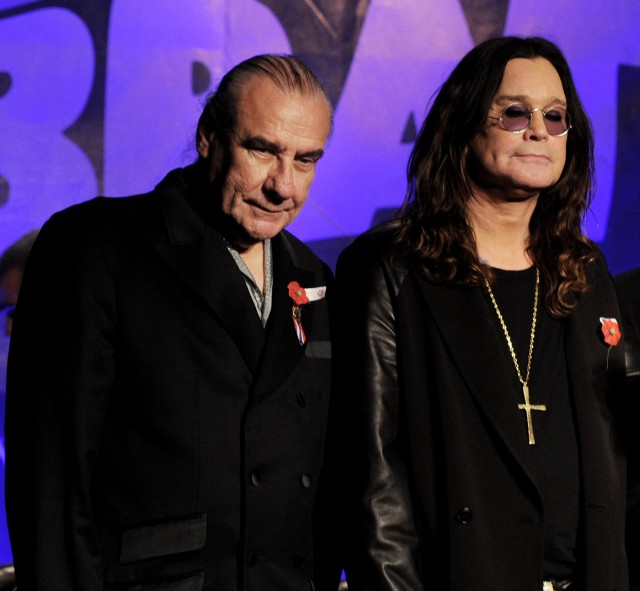 Bill Ward and Ozzy Osbourne