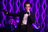 Watch Brandon Flowers Cover Frank Sinatra (With Big Boo) At Tribeca Film Festival Tribute