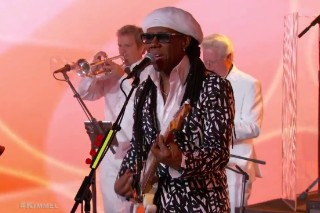Watch Nile Rodgers &#038; Chic Get Disco-Euphoric On <em>Kimmel</em>
