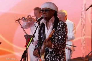 Watch Nile Rodgers &#038; Chic Get Disco-Euphoric On <em>Kimmel</em>