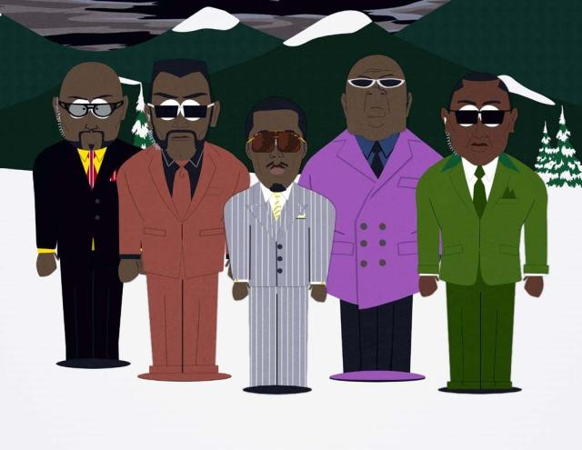Diddy on South Park