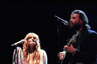 "Watch Florence Welch & Father John Misty Cover ""Love Hurts"" At Coachella"