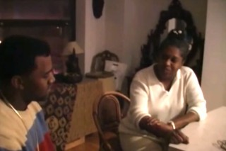 Watch Kanye West Rap With His Late Mother In A Newly Surfaced Home Movie