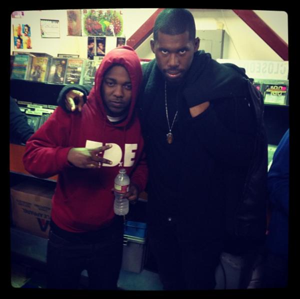 Kendrick Lamar and Flying Lotus