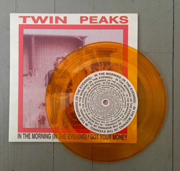 Twin Peaks orange vinyl