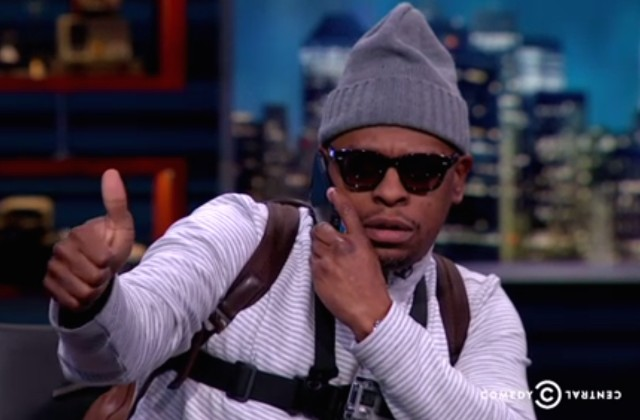 Scarface on The Nightly Show