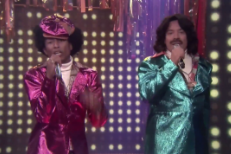 Meet Pharrell & Jimmy Fallon's Fake '80s Duo Afro & Deziak