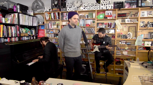 Death Cab For Cutie Tiny Desk Concert