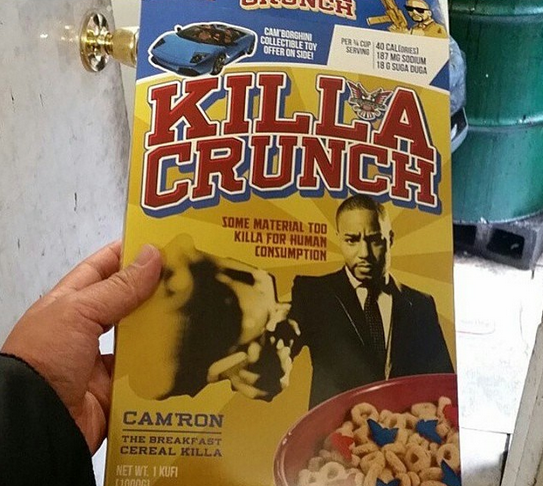Killa Crunch Cam'ron Cereal Scavenger Hunt