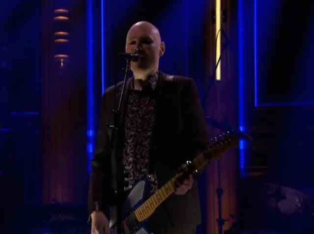 The Smashing Pumpkins on Fallon