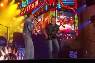 Watch Van Halen &#038; David Lee Roth Bust Out &#8220;Hot For Teacher&#8221; &#038; &#8220;Eruption&#8221; On <em>Kimmel</em>