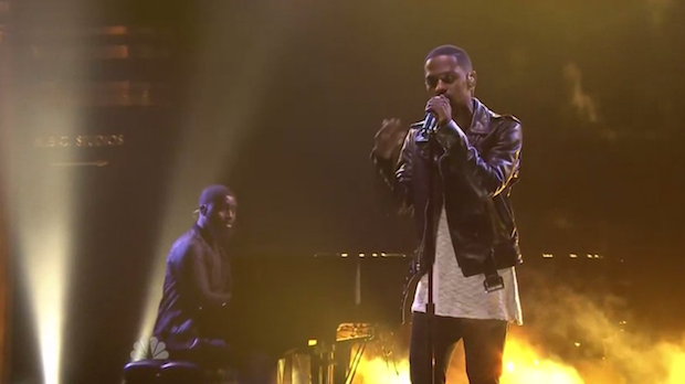 "Watch Big Sean Play Pictionary, Perform ""One Man Can Change The World"" On Fallon"