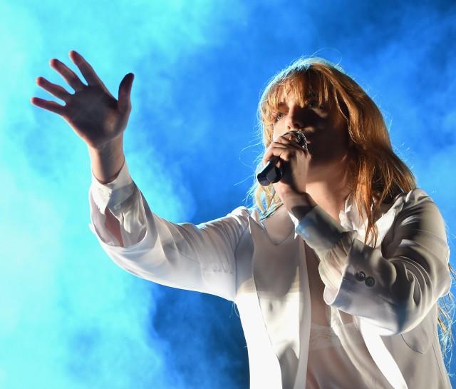 Florence + The Machine Broken Foot Coachella