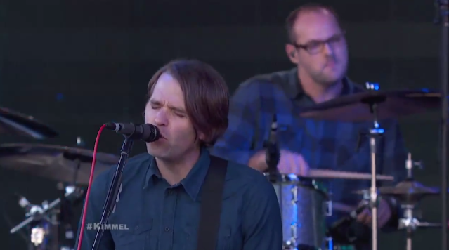 """Watch Death Cab For Cutie Bring """"Black Sun"""" And """"No Room In Frame"""" To Jimmy Kimmel"""
