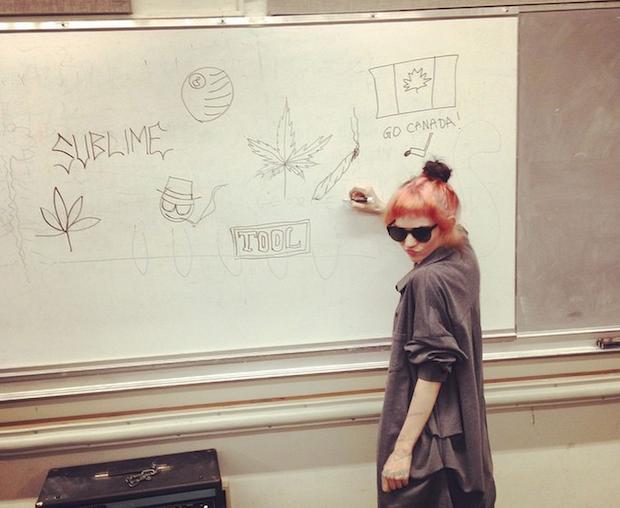 Grimes Enters The Tidal Debate