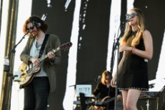 "Watch Hozier & Este Haim Cover The Time's ""Jungle Love"" At Coachella"