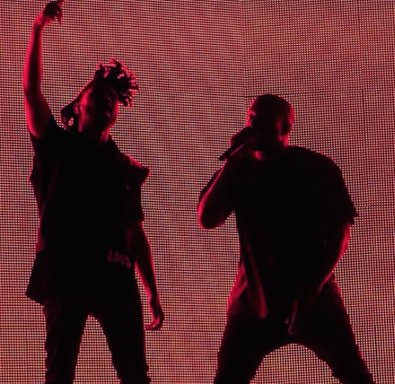 Watch Kanye West's Surprise Coachella Performance With The Weeknd