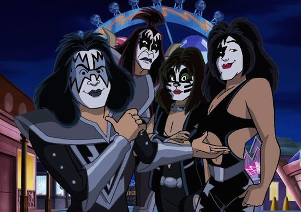 KISS Star In New Scooby-Doo Movie