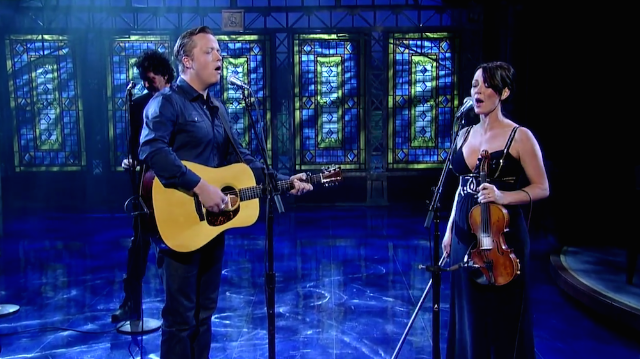 Watch Jason Isbell Cover Letterman Favorite Warren Zevon On The Late Show