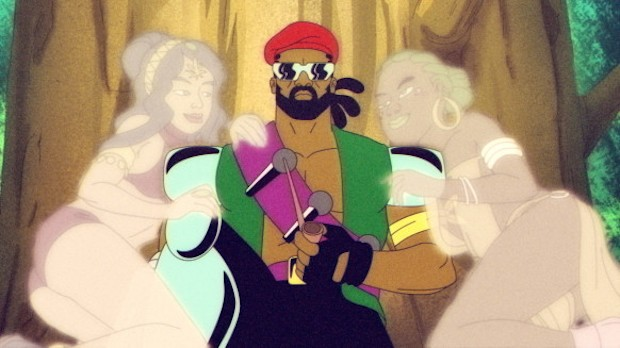 Watch The Series Premiere Of Diplo's Animated TV Show Major Lazer