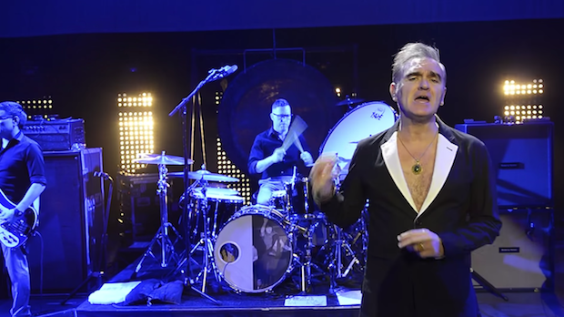 "Morrissey - ""Kiss Me A Lot"" Video"
