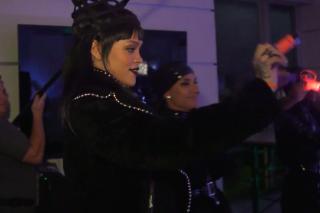 "Watch Rihanna Prank Jimmy Kimmel With A ""Bitch Better Have My Money"" Wake-Up Call"