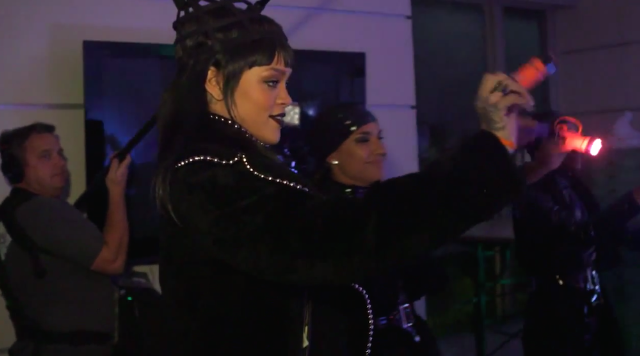 "Watch Rihanna Prank Jimmy Kimmel With A ""Bitch Better Have My Money"" Wake-Up Call"