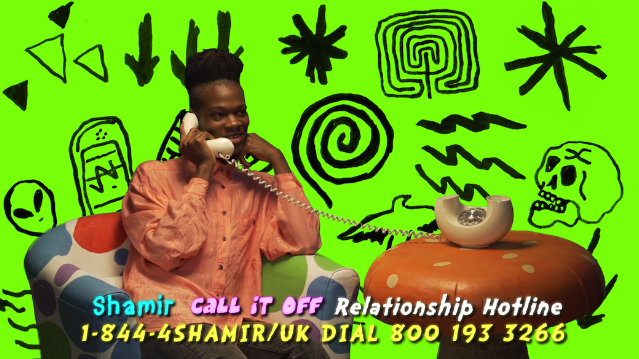 "You Can Call In To Shamir's ""Call It Off"" Relationship Hotline"