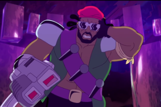 "Major Lazer – ""Bass Drop"" (Feat. Andy Samberg) Video"