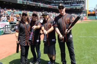 Watch Metallica Play The San Francisco Giants' Third Annual Metallica Day