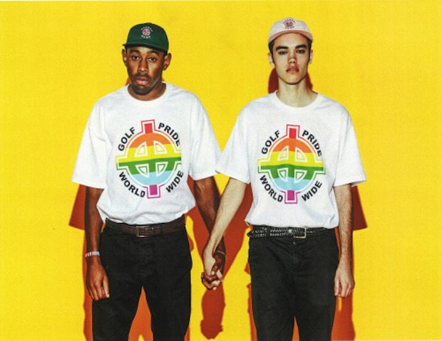... , The Creator Reappropriates White Power Symbol For Gay Pride T-Shirt: http://www.stereogum.com/1800252/tyler-the-creator-reappropriates-white-power-symbol-for-gay-pride-t-shirt/news/