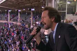 Watch Eddie Vedder Sing At Yet Another Cubs Game