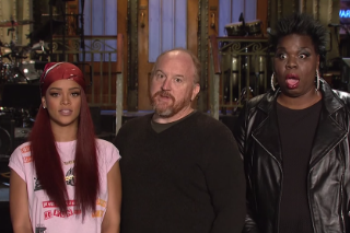 Watch Louis C.K. &#038; Rihanna&#8217;s Short But Sweet <em>SNL</em> Promo