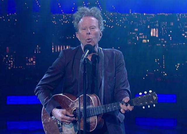 Tom Waits on Letterman