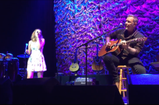 """Watch Metallica's James Hetfield Cover Adele's """"Crazy For You"""" With His Daughter"""