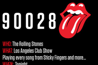 "Rolling Stones Playing ""Secret"" L.A. Club Show Tonight"