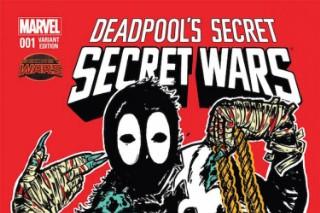 Deadpool Flashes Run The Jewels' Logo In Latest Marvel Comics Tribute