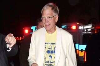 Check Out The Custom Foo Fighters T-Shirt David Letterman Earned For 33 Years On Late Night TV