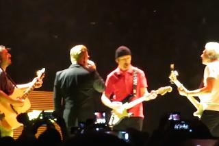 "Watch Overzealous Fan Play Live Rarity ""In God's Country"" With U2 In Phoenix"