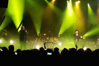 "Watch Brandon Flowers Cover New Order's ""Bizarre Love Triangle"" With Bernard Sumner"