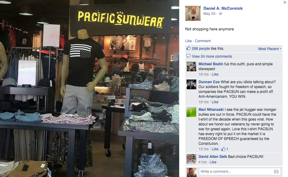 b62d842b0 PacSun Pulls A$AP Rocky T-Shirt After Complaints That It Disrespects ...