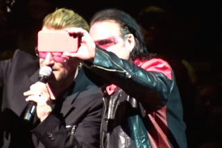 Bono Impersonator Gets To Sing Onstage With U2