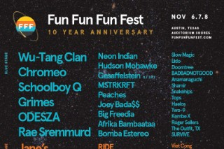 FunFunFunFest2015 Lineup