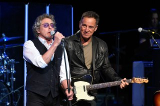 "Watch Bruce Springsteen Play ""My Generation"" With The Who At MusiCares Benefit"