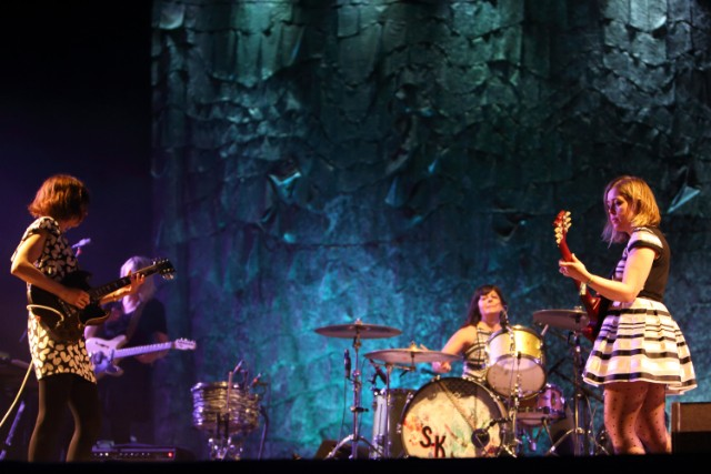 The 15-20 Minutes I Saw Of Sleater-Kinney