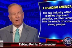 "Bill O'Reilly Blames ""Rap Industry"" For Decline Of Christianity In America"