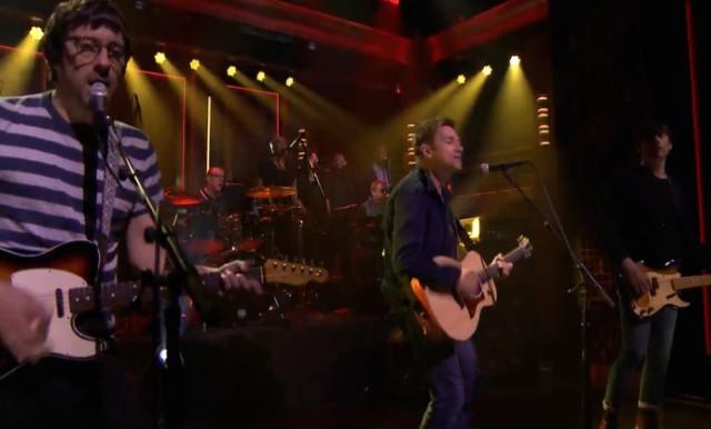 Blur on The Tonight Show
